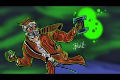 StarLord by Butch Hartman