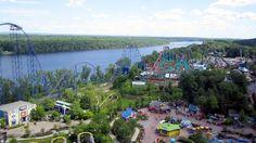 Scream on-ride HD POV Six Flags New England