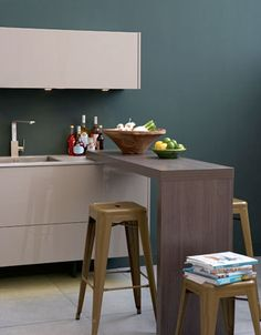 Keuken idee n on pinterest - Deco keuken kleur ...