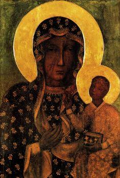 Obraz Matki Boskiej Częstochowskiej czyli Czarna Madonna