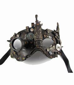 Steampunk mask 3