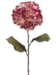 "Glittered Velvet Hydrangea in Two Tone Pink 29"" Tall Only $7.99 winter wedding holiday christmas silk flowers bridal bouquet DIY budget bride http://www.afloral.com/Silk-Flowers-Artificial-Flowers-Fake-Flowers/Silk-Holiday-Flowers/Glittered-Velvet-Hydrangea-in-Two-Tone-Pink-29-Tall"