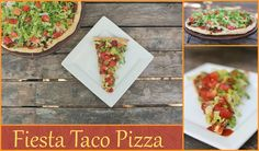 Cooking With Wildtree: Fiesta Taco Pizza Taco Pizza, Time To Eat, Pizza Recipes, Tacos, Kitchen Hacks, Cooking, Healthy, Easy, Dinners