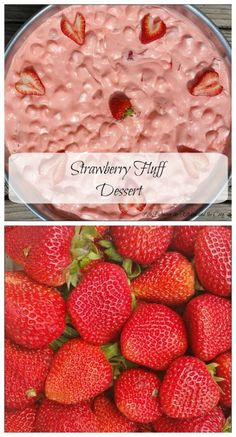 I want to share with you this recipe for Strawberry Fluff. My mom makes this often for family gatherings. She calls it a fruit salad. I call it a dessert. Call it whatever you like, but definitely call this Strawberry Fluff Dessert yummy! This refre