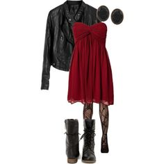 Edgy boho outfit - oxblood 70s style flared sleeve top paired with a leather mini with cute zip detail. Description from pinterest.com. I searched for this on bing.com/images