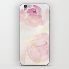 Skins are thin, easy-to-remove, vinyl decals for customizing your device. Iphone Skins, Vinyl Decals, Watercolor Art, Easy, Watercolor Painting, Watercolour