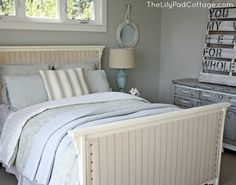 How to upholster a bed