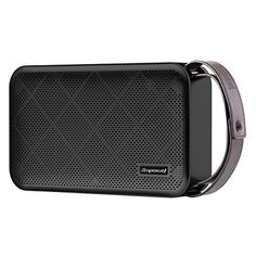 Simpowel V10  Bluetooth Speaker 40 Deep Bass 20W Portable Wireless Speaker with TI 5 Series DSP and buildin Micro SD MP3 Player  Microphone  up to 10 hours playtime ** For more information, visit image link.