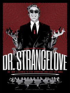 Dr. Strangelove alternative poster (from Spoke Art)