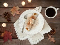 Is it wrong to want to make this #glutenfree 🎃 PUMPKIN CHEESECAKE CREPE #Thanksgiving dessert, like, now? Asking for a friend 😉 Gluten Free Pumpkin, Gluten Free Desserts, Pumpkin Recipes, Canned Pumpkin, Pumpkin Puree, Pumpkin Spice, Pumpkin Cheescake, Pumpkin Dessert, Cheesecake Recipes