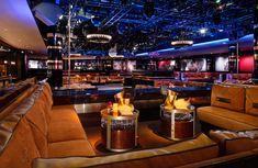 1 Oak Nightclub, The Mirage Hotel & Casino, Las Vegas. Interior design by Studio Munge.