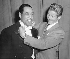 Duke Ellington and Danny Kaye