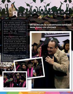 En Morelos se garantinzan espacios para los jóvenes.