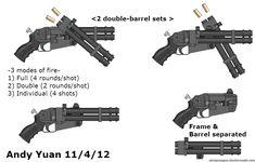 Shotgun Idea 3 by c-force.deviantart.com on @DeviantArt