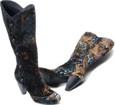 Love these boots!  but because I'm so darn practical, I'd probably just get the black ones, which I would still love.