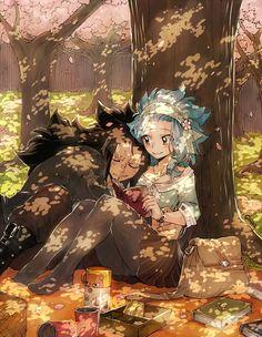 #wattpad #de-todo Desde qué te vi, te quise conocer... Pasar tiempo junto a ti... Saber como eras, escuchar tu voz... Que pena que la vida no me lo permitió.... -Eres uno de los pocos hombres que aprendió la lección Gajeel...- -¿Eh?- -Que el amor no solo se demuestra con palabras, sino con hechos...- -•-•-•-•-•-•-•...