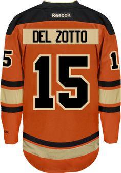 2e3d0ef88 Philadelphia Flyers Michael DEL ZOTTO  15 Official Third Reebok Premier  Replica CoolHockey. Bernie ParentNhl Hockey JerseysNhl PlayersPhiladelphia  ...