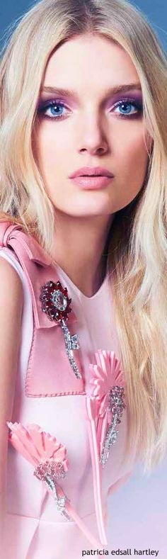 For her love of pink..Lily Donaldson - WLLE UK - August 2015