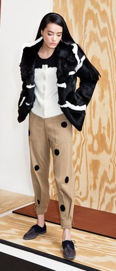 The tomboy look has never been so chic. Band of Outsiders has mastered luxurious-yet-cool outerwear.
