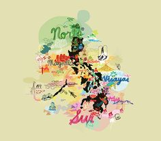 Travel infographic Explore the Philippines Illustration ANG Pambansang by Team Manila (Philippine Philippines Tourism, Philippines Culture, Manila Philippines, Philippine Map, Map Wallpaper, Travel Illustration, Thinking Day, Vintage Maps, Map Design