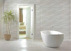 Idol Tear Gray Ceramic Tile - 12 x 24 - 100192913 Bathroom Red, Ceramic Tile Bathrooms, Room Wall Tiles, Bathroom Tile Designs, Trendy Bathroom Tiles, Amazing Bathrooms, Floor Tile Design, Tile Bathroom, Floor Decor