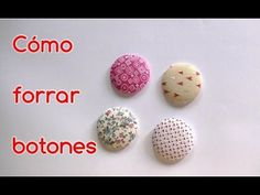 Desde www.conideade.com te enseñamos a forrar botones con tela y usando un kit para forrar botones. Puedes forrar botones con las telas que más te gusten, te... Sewing Basics, Sewing Hacks, Sewing Tutorials, Sewing Projects, Sewing Tips, Santas Workshop, Button Crafts, Love Sewing, Sew On Patches