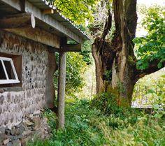 cordwood sauna - Google Search