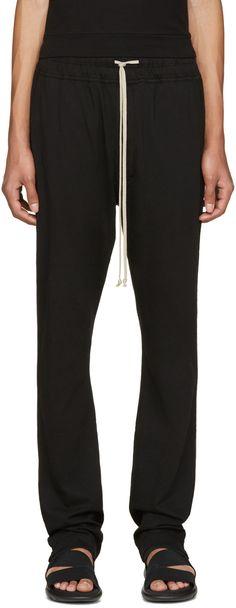RICK OWENS DRKSHDW Black Jersey Berlin Lounge Pants. #rickowensdrkshdw #cloth #pants