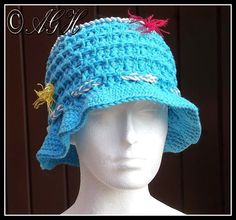 AG Handmades  Sam s Beach Hat Crochet Summer Hats 3730229a6569