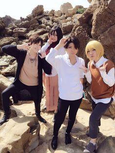 Shingeki No kyoujin - Aitsuito(Yuuki) Levi Ackerman Cosplay Photo - Cure WorldCosplay