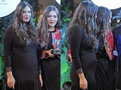 ¡Tatiana Santo Domingo confirma en Madrid que está embarazada!