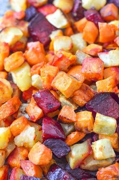 Oven Roasted Sweets and Beets | Healthy Ideas for Kids