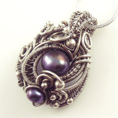 A recently sold necklace - this made ages ago, it was a creative turning point, so it one of my favourite pieces :))