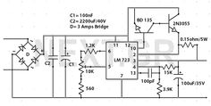 0-30 Volts / 2,5A Variable Power Supply - img1