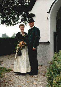 wedding dirndl suit tracht hochzeit austria