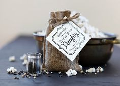 This Christmas Coal™ popcorn makes a great handmade stocking stuffer gift for foodies or movie goers!