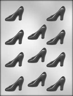 High Heel Shoe Chocolate Candy Mold