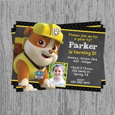 https://www.etsy.com/listing/180810023/paw-patrol-rubble-birthday-invitation