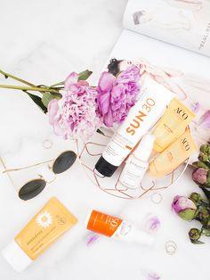 Best Sunscreens of 2018 | flatlay | Laura Loukola
