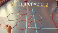 Minefield in de gymles - bewegen en denken tegelijk -