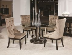Grove Point Table And Chair Set By American Drew Furniture