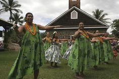 Hula Dancers, via Flickr.