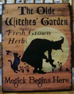 The Olde Witches Garden