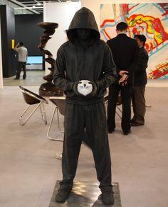 Man in black hoodie