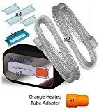 VirtuCLEAN CPAP and Mask Automatic Cleaner Value Pack w/ SAP Supplies Kit 4pk Dreamstation Filters & 2pk Standard Cpap Tubing Sleep Apnea Mask, Filters, Packing, Kit, Bag Packaging