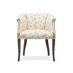 The Nancy Chair was designed as a bedroom chair but has been placed in hallways, lounges and studies so is very versatile. It has a soft scroll edge with cut back scroll arms. It has a fully sprung seat and tapered legs. Hallway Chairs, Black Velvet Chair, Car Chair, Bedroom Chair, Occasional Chairs, Drawing Room, Accent Chairs, Modern Design, Lounges