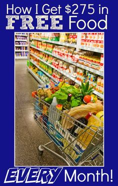 "Lower your grocery bill EVERY month with this proven system! I use it EVERY month to ""buy"" $275 (or more!) in FREE Groceries! Part 1 of this post will show you how...part 2 (coming soon!) will teach you how I find the deals!"