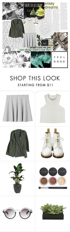 """monthly wrap up / june 2017"" by midnight-glow ❤ liked on Polyvore featuring GE, Monki, Shakuhachi, Børn, Dr. Martens, Chanel, Ethan Allen, Bare Escentuals, Lux-Art Silks and BOBBY"