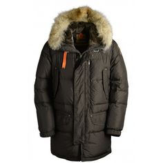 Discount Original Parajumpers HARRASEEKET Man Outerwear Brown PJS Down Jacket