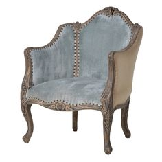 £861 Carved Louis Chair
